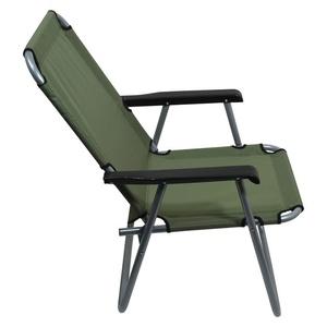 stolička kempingový skladacia Cattara LYON tmavo zelená, Cattara