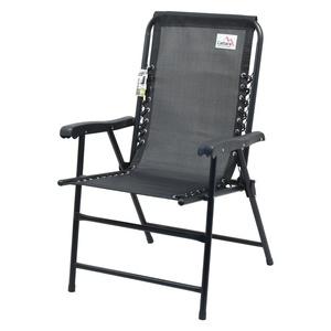 stolička záhradná skladacia Cattara TERST čierna, Cattara