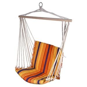 Hojdací sieť k sedenie Cattara Hammock Chair červeno-oranžová, Cattara