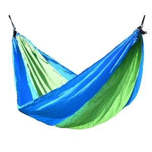 Hojdací sieť k sedenie Cattara NYLON 275x137cm zeleno-modrá, Cattara