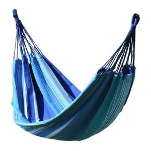 Hojdací sieť k sedenie Cattara TEXTIL 200x100cm modro-biela, Cattara