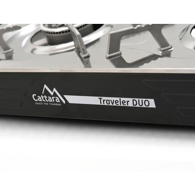 Plynový varič Cattara Traveler DUO, Cattara