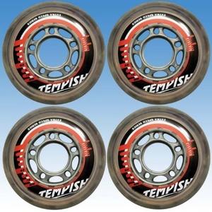 Sada koliesok Tempish CATCH 76x24 mm 82A set wheel (4 ks) , Tempish
