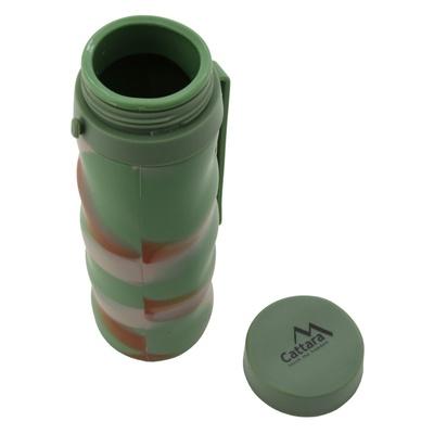 Silikónová fľaša Cattara ARMY 550ml, Cattara
