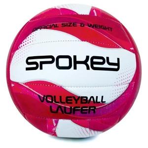 Volejbalový lopta Spokey LAUFER bielo-ružový, Spokey