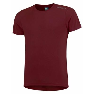 Funkčný tričko Rogelli PROMOTION, vínovej 800.228, Rogelli