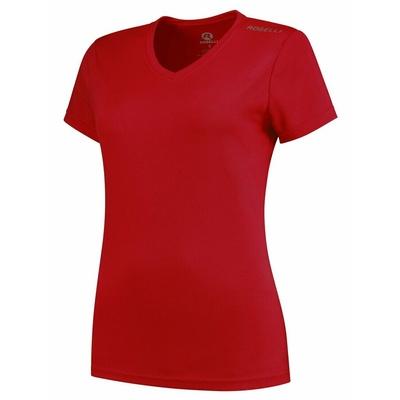 Dámske funkčnou triko Rogelli PROMOTION Lady, červené 801.221, Rogelli