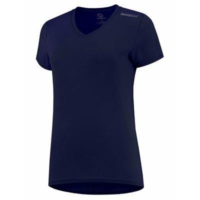 Dámske funkčnou triko Rogelli PROMOTION Lady, tmavo modré 801.229, Rogelli