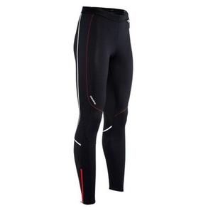 Pánske elastické nohavice Silvini MOVENZA MP1312 black red, Silvini