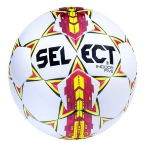 Futbalový lopta Select FB Indoor Five bielo červená, Select