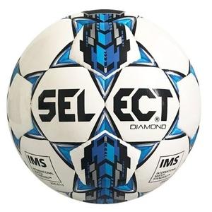 Futbalový lopta Select FB Diamond Special bielo modrá, Select