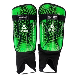 Chrániče holene Select Shin guards High Safe zeleno čierna, Select