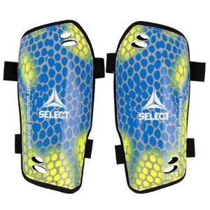 Chrániče holene Select Shin guards Standard žlto modrá, Select