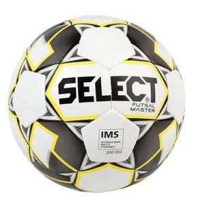 futsalový lopta Select FB Futsal Master bielo žltá, Select
