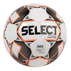 futsalový lopta Select FB Futsal Master bielo oranžová, Select