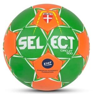 Hádzanárska lopta Select HB Circuit 450 zeleno oranžová, Select