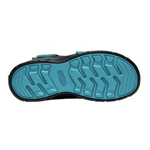 Detské topánky Keen Hikeport MID Strap WP Y, magnet / greenery, Keen