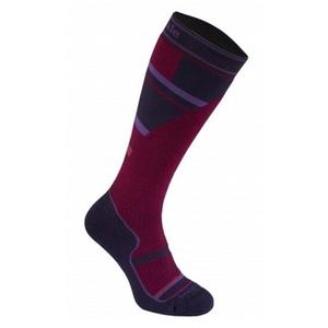 Ponožky Bridgedale Ski Mountain Junior purple/grey/070, bridgedale