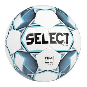 Futbalový lopta Select FB Team FIFA bielo modrá veľ. 5, Select