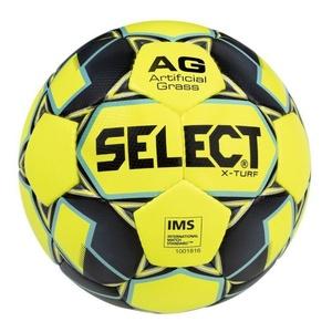 Futbalový lopta Select FB X-Turf žlto sivá, Select