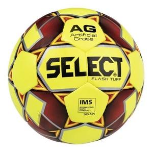 Futbalový lopta Select FB Flash Turf žlto červená, Select