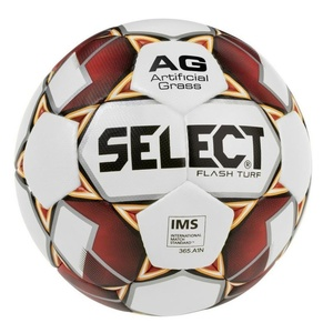 Futbalový lopta Select FB Flash Turf bielo červená