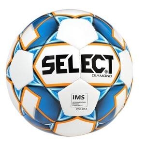 Futbalový lopta Select FB Diamond bielo modrá, Select