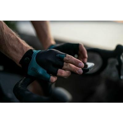 Rukavice na kolo Rogelli PRESA, čierno-khaki 006.360, Rogelli