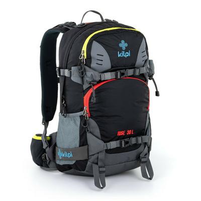 Freeride a skialpový batoh Kilpi RISE-U čierna, Kilpi