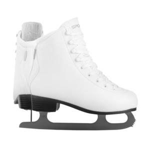Krasokorčuliarske korčule Spokey BLAZE, biele, Spokey