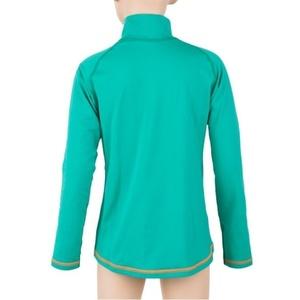 Detské triko Sensor Thermo dl.rukáv zips sv.zelená / ufo, Sensor