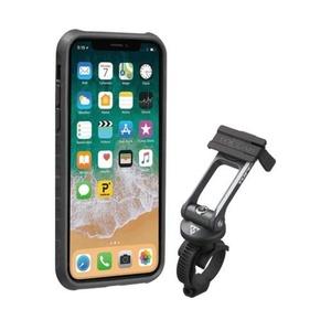 Obal Topeak RideCase pre iPhone X čierna / šedá TT9855BG, Topeak