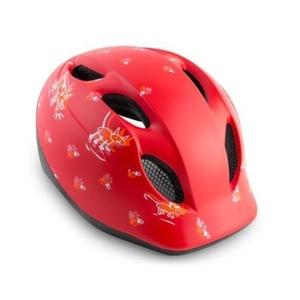 MET helma SUPER BUDDY 2019 detská zvieratká / červená, Met