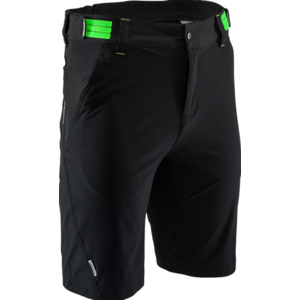 Pánske MTB cyklistické nohavice Silvini ELVO Elvo MP809 black-green, Silvini