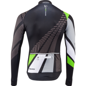 Pánsky zateplený dres Silvini Team MD1401 black-green, Silvini