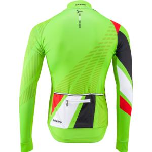 Pánsky zateplený dres Silvini Team MD1401 green-red, Silvini