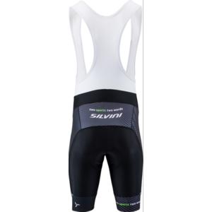 Pánske cyklistické nohavice Silvini Team Top MP1406 black-green