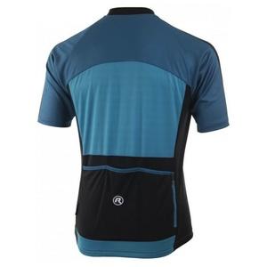 Cyklistický dres Rogelli MANTUA 3.0 s krátkym rukávom, tyrkysovo-modrý 001.078., Rogelli
