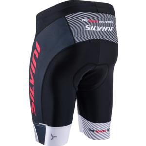 Pánske cyklistické kraťasy Silvini Team MP1407 black-red, Silvini