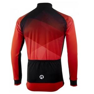 hrejivý cyklistický dres Rogelli ISPIRATO 2.0 s dlhým rukávom, červený 001.409, Rogelli