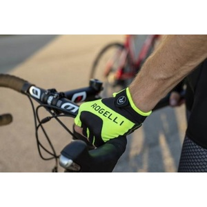 Cyklistické rukavice Rogelli Arioso, reflexná žlté 006.001., Rogelli