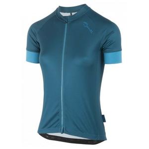 Dámsky cyklistický dres Rogelli Modesta s krátkym rukávom, tmavo tyrkysovo-žltý 010.114, Rogelli
