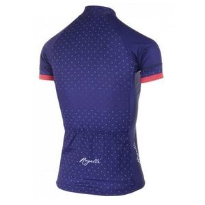Dámsky cyklistický dres Rogelli PRIDE s krátkym rukávom a strihom na telo, modro-ružové 010.171., Rogelli