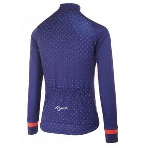 hrejivý dámsky cyklodres Rogelli PRIDE s dlhým rukávom, modro-ružový 010.181., Rogelli