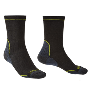 Ponožky Bridgedale Hike Lightweight Coolmax Performance Boot black/lime/137, bridgedale