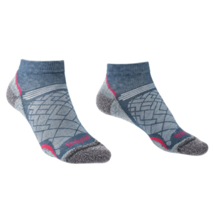 Ponožky Bridgedale Hike Ultralight T2 Coolmax Performance Low Women's dark denim/136, bridgedale
