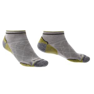 Ponožky Bridgedale Hike Ultralight T2 Coolmax Performance Low grey/green/068, bridgedale