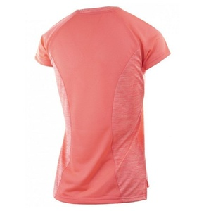 Dámske funkčnou tričko Rogelli JOY, ružový melír, Rogelli