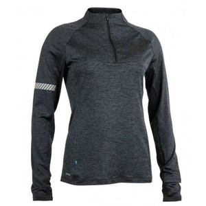 Dámska mikina Salming Phase Halfzip Women Dark Grey Melange, Salming