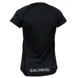 Dámske triko Salming Laser Tee Women Black Melange, Salming